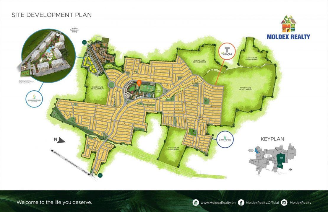 Site Development Plan for MetroGate Silang Estates