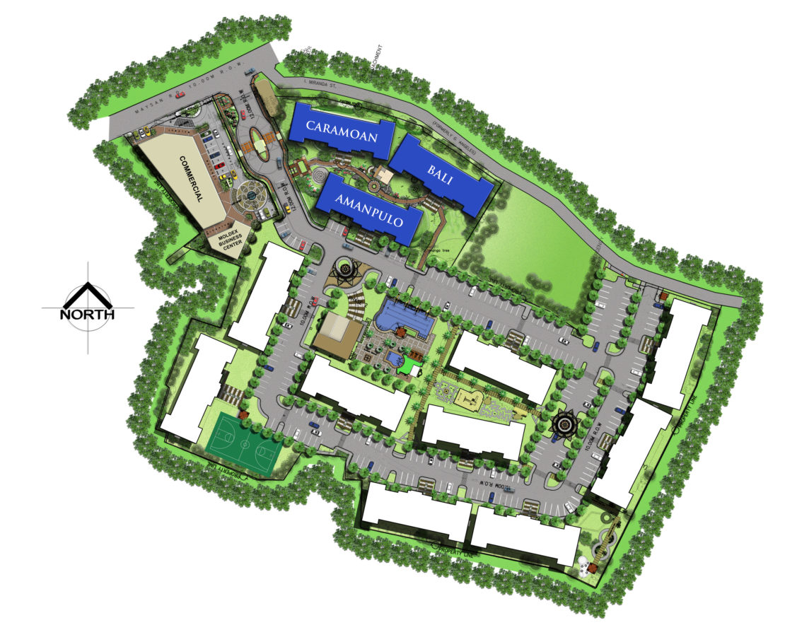 Site Development Plan for Moldex Residences Valenzuela
