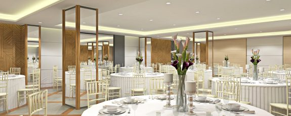 Architect's Perspective of Function Room
