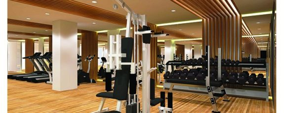 Architect's Perspective of Gym