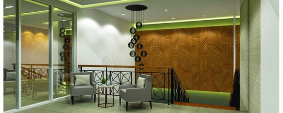 Architect's Perspective of Lobby