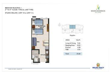 View Studio Deluxe floor plan