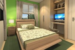 Architect's Perspective of Bedroom 1