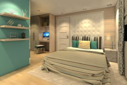Architect's Perspective of MasterBedroom