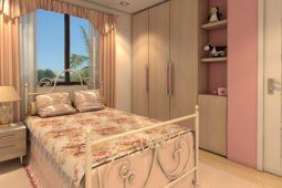 Architect's Perspective of Bedroom 3