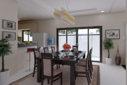 Architect's Perspective of Dining Area