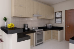 Architect's Perspective of Kitchen
