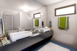 Architect's Perspective of Masters Bedroom T&B