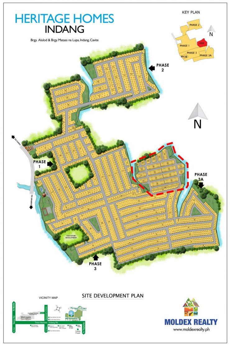 Site Development Plan for Heritage Homes Indang