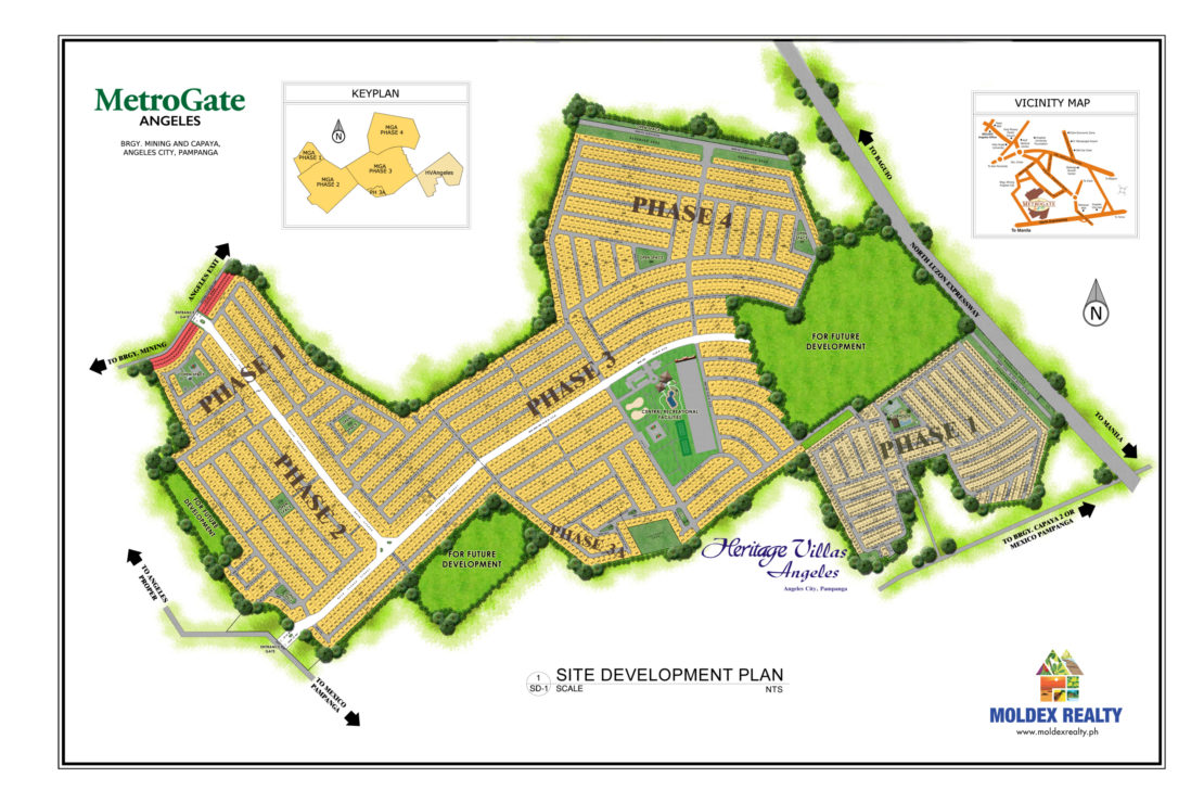 Site Development Plan for MetroGate Angeles