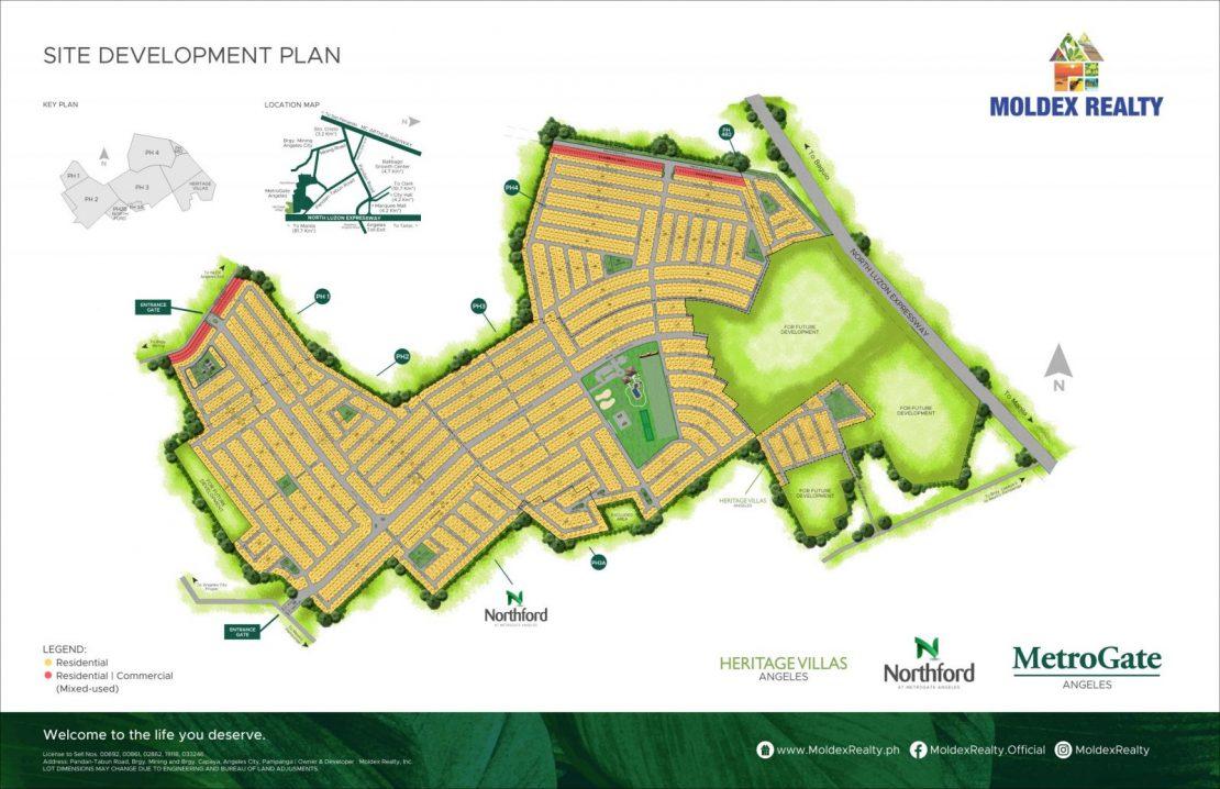 Site Development Plan for MetroGate Angeles