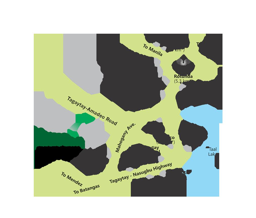 Vicinity Map MetroGate Tagaytay Estates