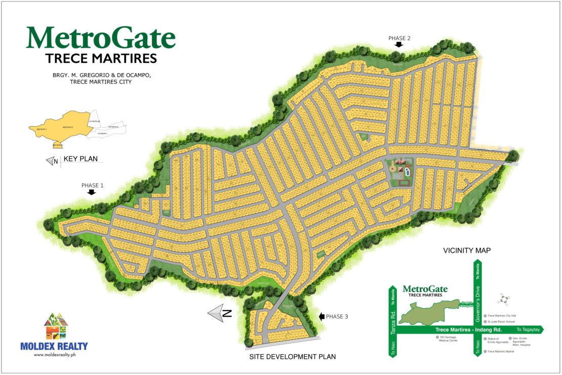 Site Development Plan for MetroGate Trece Martires