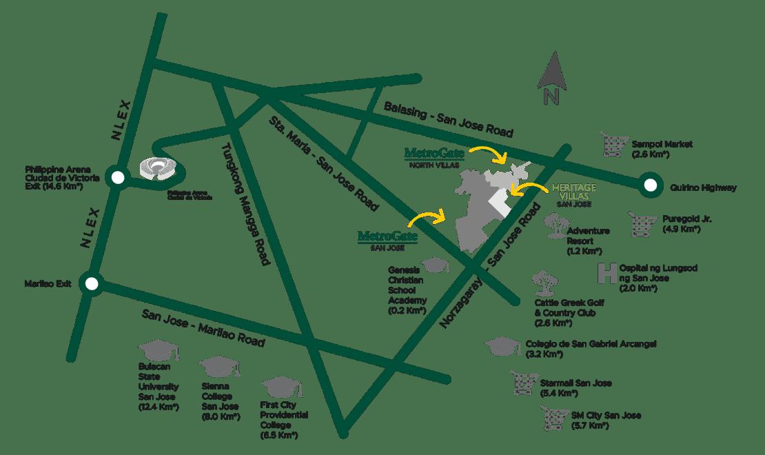 Vicinity Map Moldex New City
