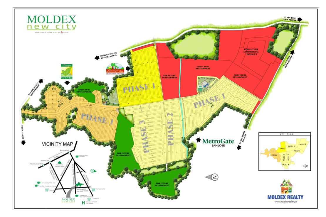 Site Development Plan for Moldex New City