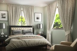 Blanche | Architect's Persperctive of Master's Bedroom