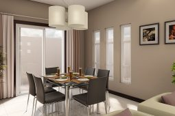 Blanche | Architect's Persperctive of Dining Area