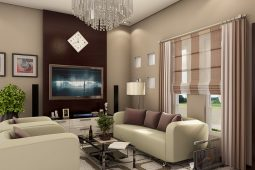 Blanche | Architect's Persperctive of Living Area