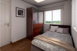 Avery | Architect's Perspective of Bedroom