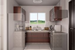 Avery | Architect's Perspective of Kitchen Area