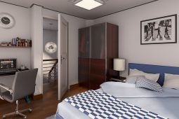 Avery | Architect's Perspective of Master's Bedroom