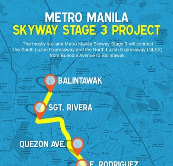 On-going development – Metro Manila Skyway 3 makes property investments at Moldex Realty ideal