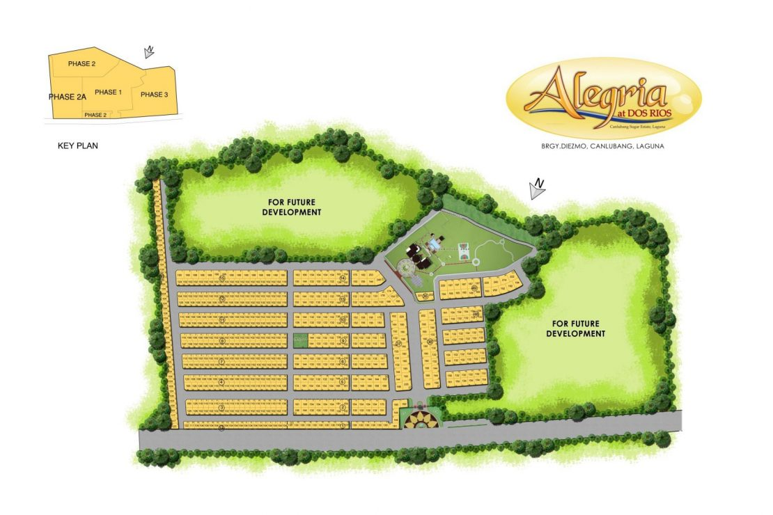 Site Development Plan for Alegria at Dos Rios