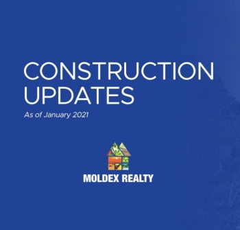 Moldex Residences Silang | Construction Updates (January 2021)