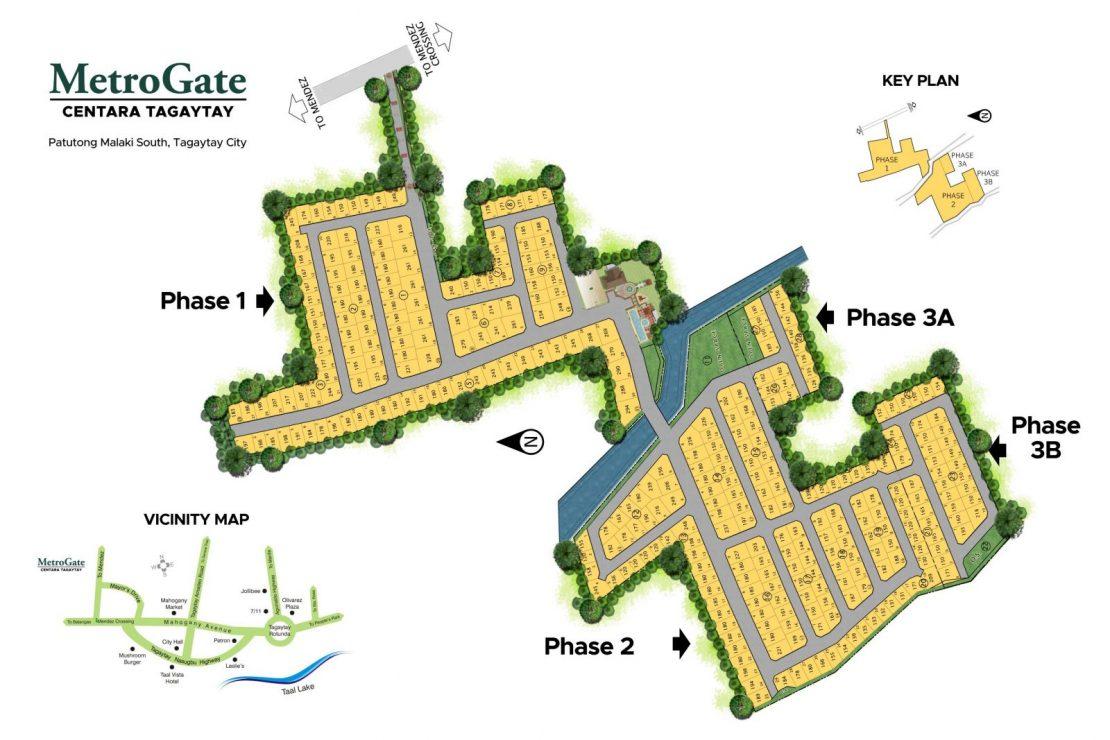 Site Development Plan for MetroGate Centara Tagaytay