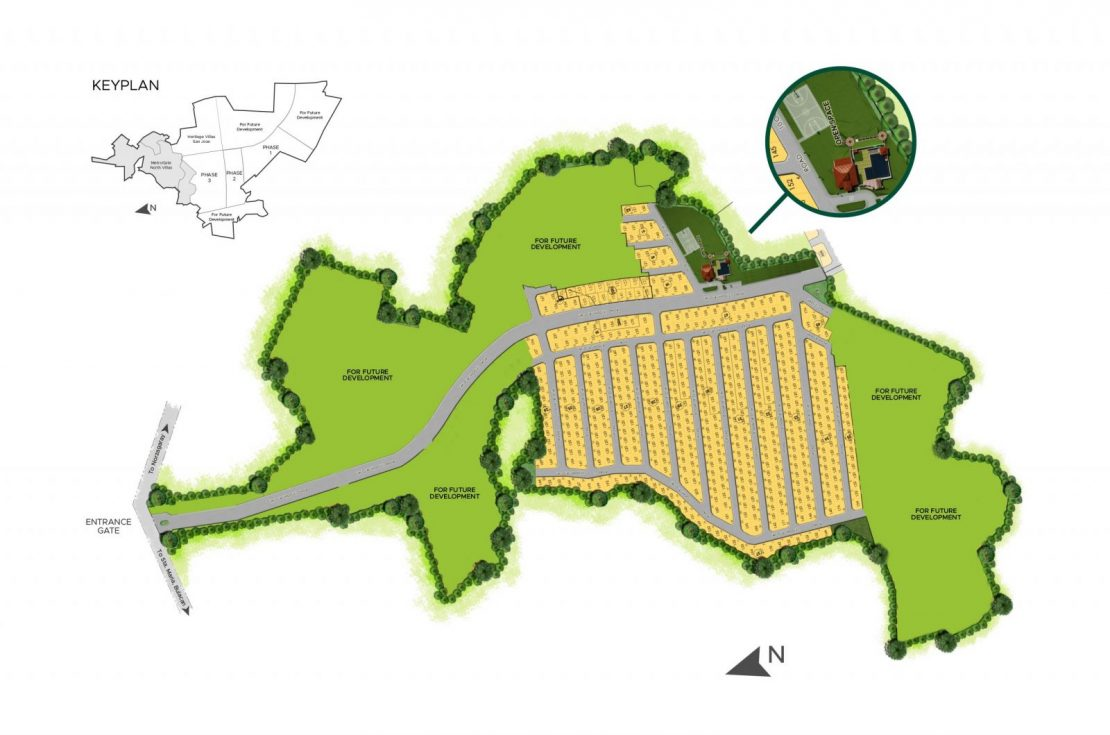 Site Development Plan for MetroGate North Villas