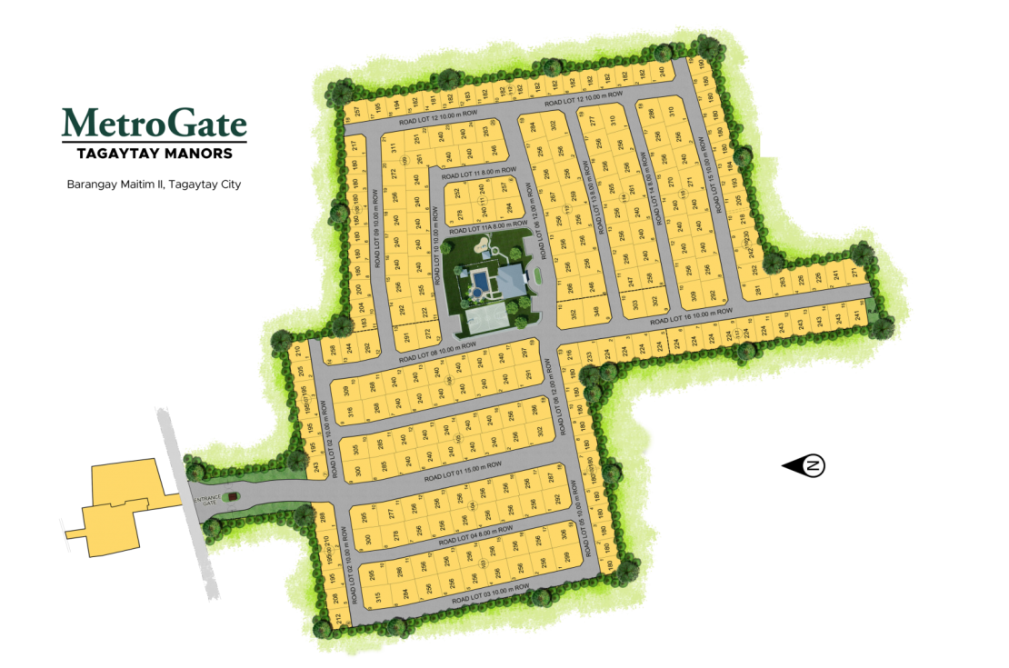 Site Development Plan for MetroGate Tagaytay Manors