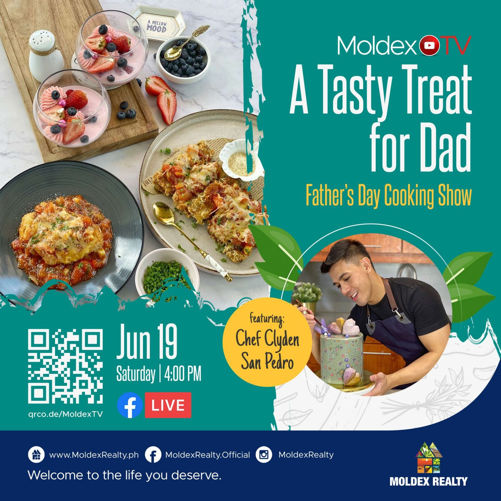 A Tasty Treat for Dad (Father's Day Cooking Show)