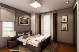 Architect's Perspective of Masters Bedroom (House Model Chloe)