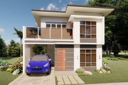 Architect's Perspective of House Model Chloe